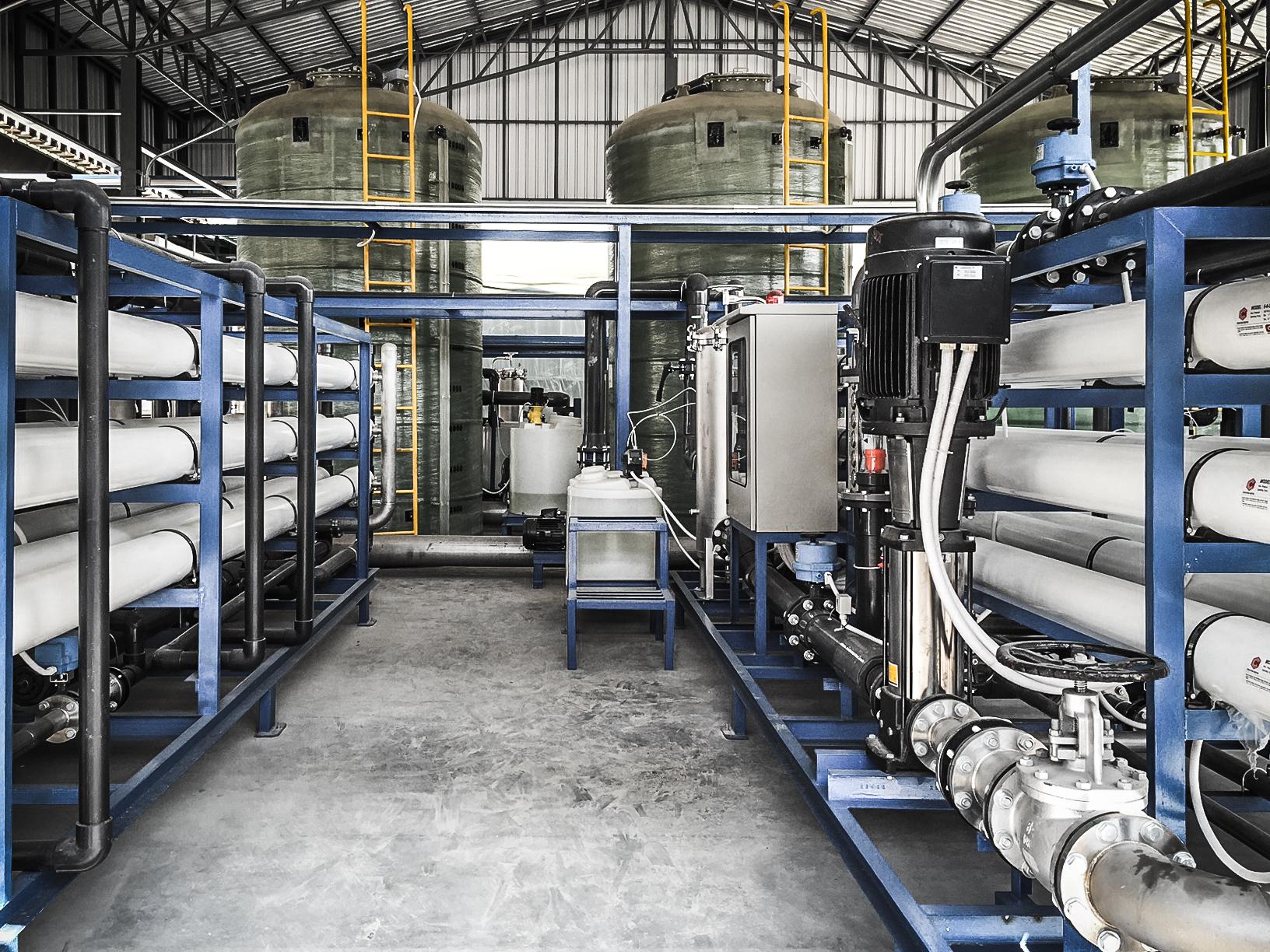 Reverse Osmosis ระบบผลิตน้ำ RO